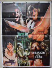Hell Night (Stranger in the House)  Horror Poster - Pakistani